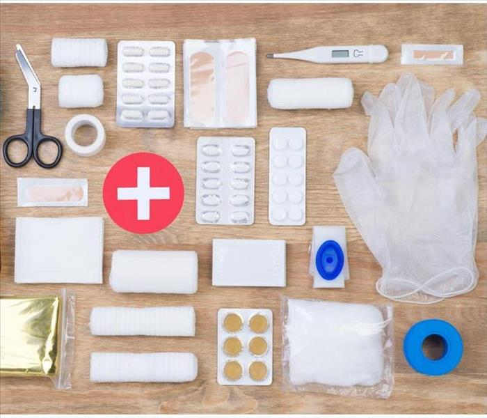 Storm Damage What To Keep in Your Business's First Aid Kit